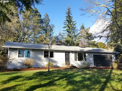 Eugene Single Family Home For Sale: 1765 Lorane Hwy