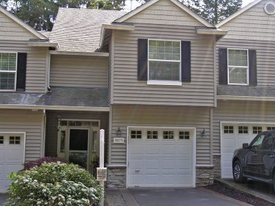 Washington County Condo/Townhouse For Sale: 9075 SW Sagert St