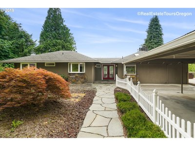 Portland Single Family Home For Sale: 16245 NW McNamee Rd