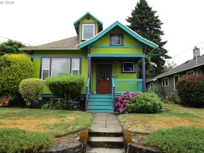 Multnomah County Single Family Home For Sale: 937 NE 76th Ave