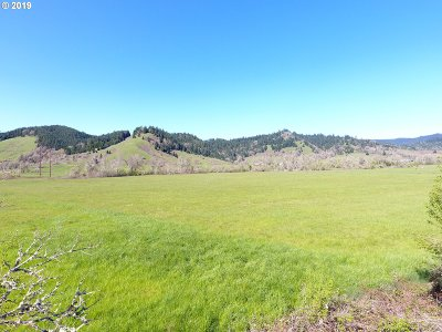 Yoncalla Farm & Ranch For Sale: 1536 Scotts Valley Rd