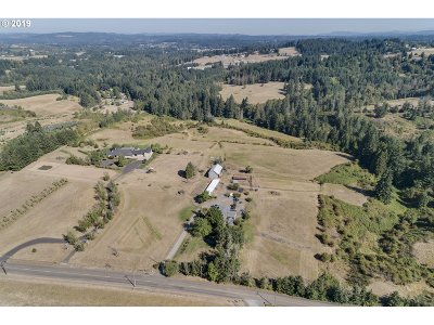 Wilsonville, Canby, Aurora Farm & Ranch For Sale: 12587 S Union Hall Rd