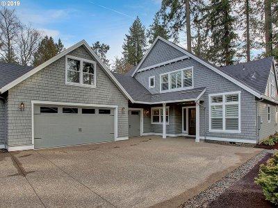 Lake Oswego Single Family Home For Sale: 4620 Dogwood Dr
