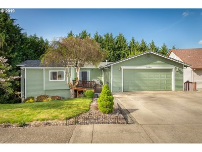 Beaverton, Aloha Single Family Home For Sale: 7424 SW Bayberry Dr