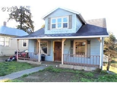 Coquille Single Family Home For Sale: 661 N Elliott St