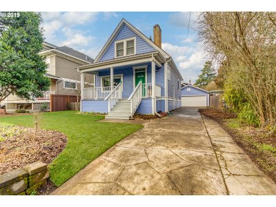 Portland Single Family Home For Sale: 4705 NE 18th Ave
