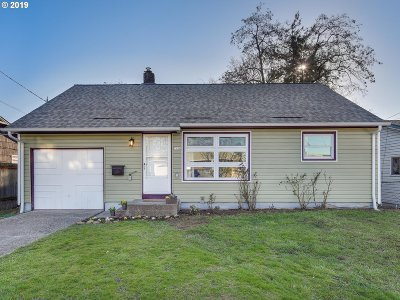 Single Family Home For Sale: 7126 SE 86th Ave