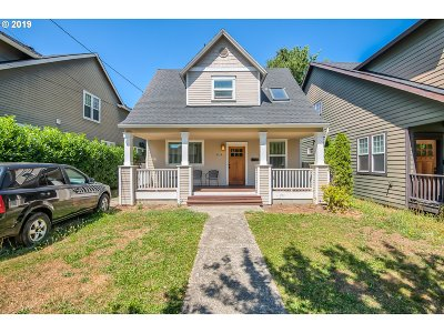 Portland Single Family Home For Sale: 2533 N Winchell St