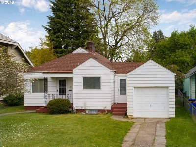 Single Family Home For Sale: 1645 N Alberta St