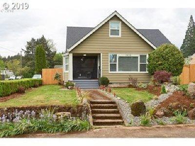 Single Family Home For Sale: 3838 NE 81st Ave