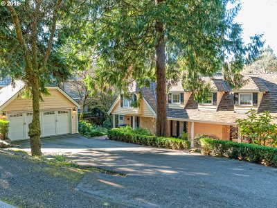 Lake Oswego Single Family Home For Sale: 4011 Westbay Rd