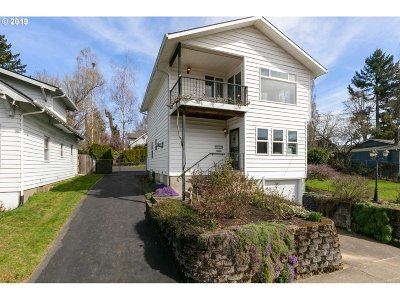Single Family Home For Sale: 9831 N Edison St