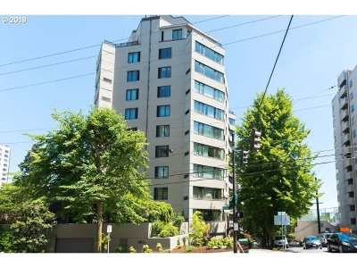Clackamas County, Columbia County, Jefferson County, Linn County, Marion County, Multnomah County, Polk County, Washington County, Yamhill County Condo/Townhouse For Sale: 2245 SW Park Pl #2D