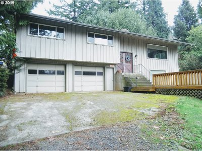 Coquille Single Family Home For Sale: 1101 E 15th