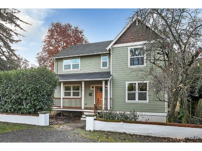 Clackamas County, Multnomah County, Washington County Single Family Home For Sale: 7718 N Crawford St