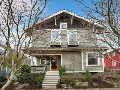 Portland Single Family Home For Sale: 3956 NE 8th Ave