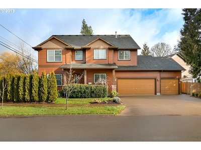 Beaverton Single Family Home For Sale: 14549 SW Downing St