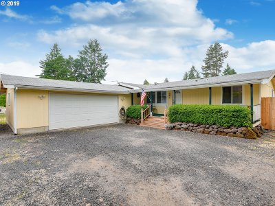 Cornelius Single Family Home For Sale: 9245 SW 313th Ave