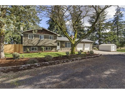 Hillsboro, Cornelius, Forest Grove Single Family Home For Sale: 13438 SW Campbell Rd