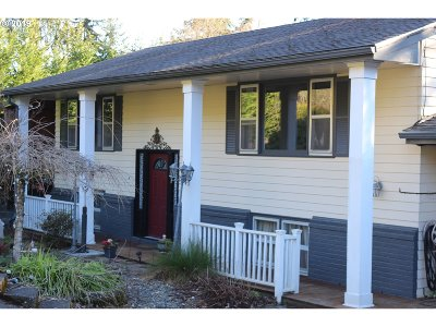 Cowlitz County Single Family Home For Sale: 3141 Ammons Dr