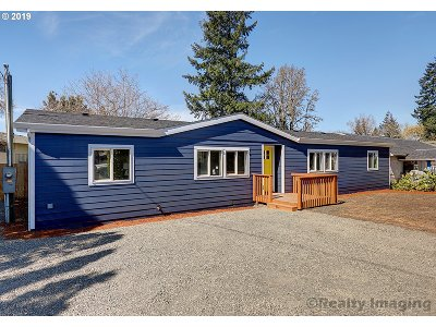 Single Family Home For Sale: 6623 SE 47th Ave