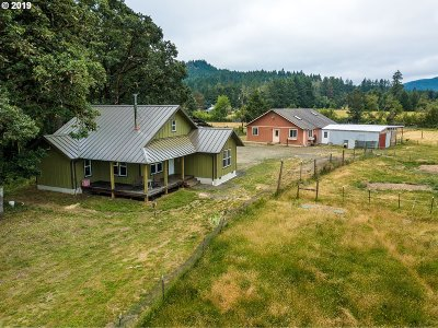 Cottage Grove, Creswell Single Family Home For Sale: 32383 Lynx Hollow Rd