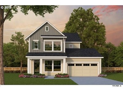 Hillsboro Single Family Home For Sale: 3464 SE 68th (Lot 217) Ave