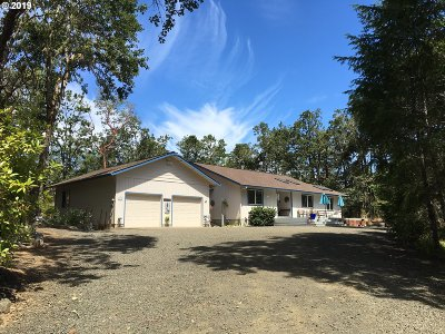 Roseburg Single Family Home For Sale: 1582 Cleveland Hill Rd