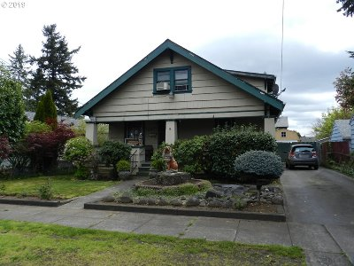 Portland Single Family Home For Sale: 6532 SE 86th Ave