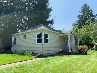Single Family Home For Sale: 3915 NE 115th Ave