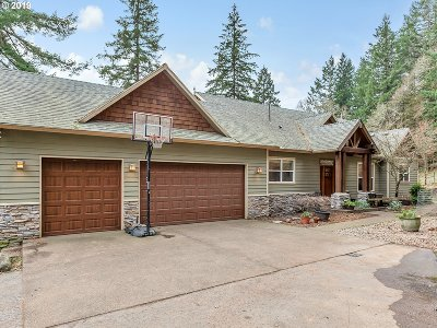 Clackamas County Single Family Home For Sale: 17871 SW Corral Creek Rd