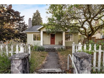 Portland Single Family Home For Sale: 5774 N Vancouver Ave