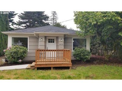 Single Family Home For Sale: 4432 NE 91st Ave
