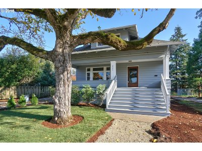 Single Family Home For Sale: 3320 SE 67th Ave