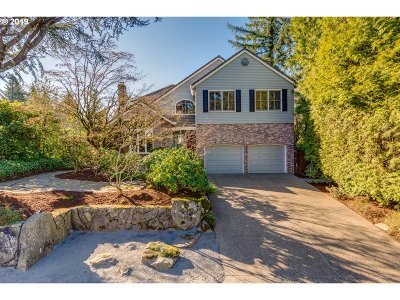 Single Family Home For Sale: 6411 SW Burlingame Pl