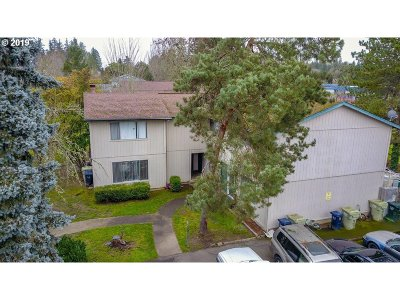 Clackamas County, Multnomah County, Washington County Multi Family Home For Sale: 17324 SW Merlo Rd