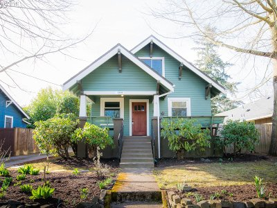 Portland Single Family Home For Sale: 2410 N Watts St