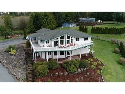 Kalama Single Family Home For Sale: 265 Green Mountain Ln