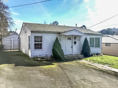 Roseburg OR Single Family Home For Sale: $105,000