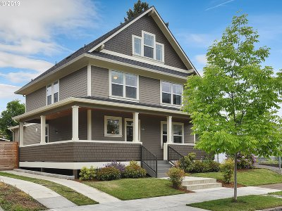 Portland Single Family Home For Sale: 7321 N Ivanhoe St
