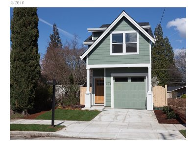 Portland Single Family Home For Sale: 2843 N Halleck St