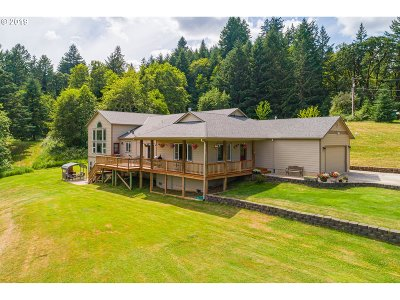 McMinnville Single Family Home For Sale: 19475 SW Powerhouse Hill Rd