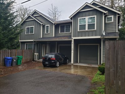 Clackamas County, Multnomah County, Washington County Multi Family Home For Sale: 5110 SW 49th Dr