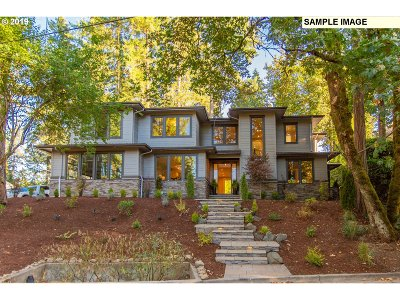Lake Oswego Single Family Home For Sale: 17686 Stafford Rd #Lot 4