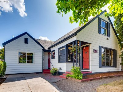 Portland Single Family Home For Sale: 4432 NE Oregon St