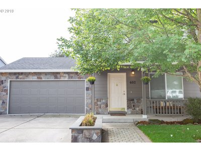 Newberg, Dundee, Mcminnville, Lafayette Single Family Home For Sale: 602 W Sheridan St