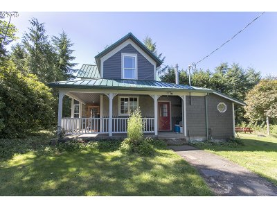 Nehalem Single Family Home For Sale: 26220 Miami Foley Rd