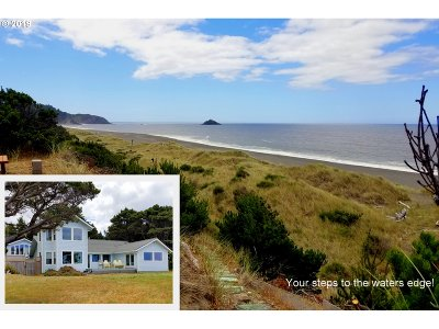 Port Orford Single Family Home For Sale: 42400 Sunset Pl