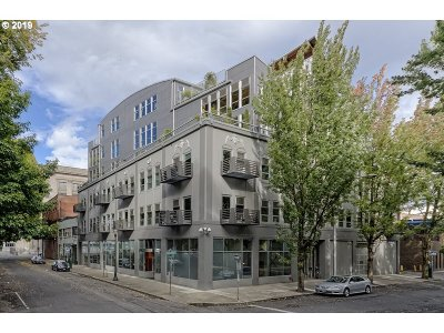Multnomah County Condo/Townhouse For Sale: 725 NW Flanders St #206