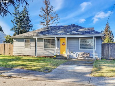 Canby Single Family Home Sold: 384 NW 6th Ave